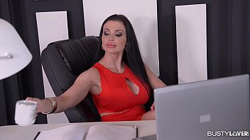 Big-titted Assistant Aletta Ocean Gets Jug Poked And Creamed