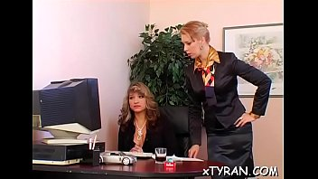 Uber-sexy Playgirl Coerced Into Lezzie Bang-out