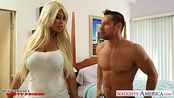 Chesty Light-haired Girlfriend Bridgette B Gets Knockers Boned