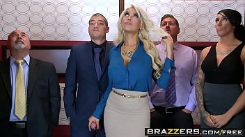 Brazzers  Phat Udders At Work  Bridgette B Xander Corvus  Stuck In The Elevator
