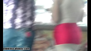 Candid booties in motion in porn video tube