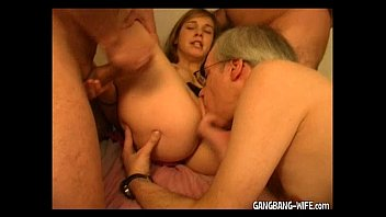 Mature wife swallowing husband blow job