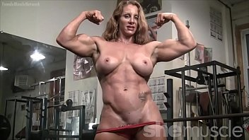 Images - Shaved nude female bodybuilders
