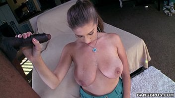 Dark Haired Amateur With Real Boobies Loving A Lengthy Dark-hued Cumbot