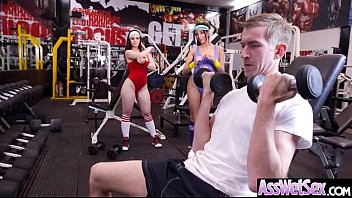 Fat Arse Raw Greased Damsel Anissa Kate And Nekane Jummy Get Pummeled Deep In Her Behind Clip06