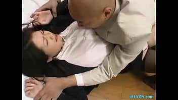 Office Gal Rapped By Her Chief Getting Her Unshaved Cooch Fingerblasted On The Floor In