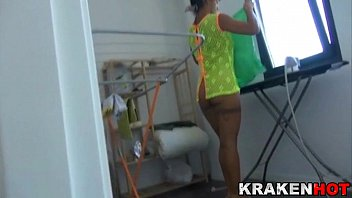 Spycam View At This Wife's Coochie Cleaning In A Xvideo